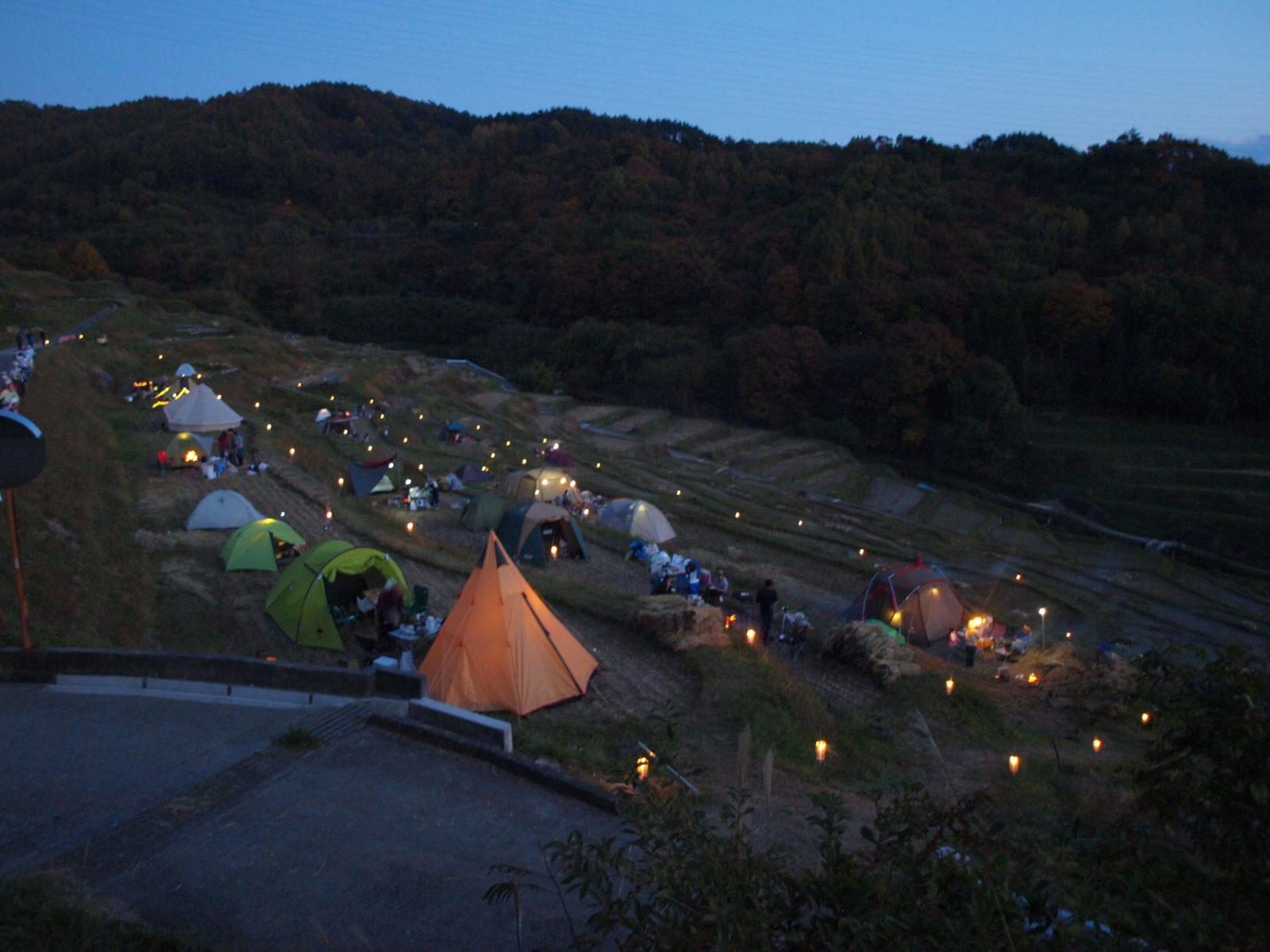 棚田キャンプ